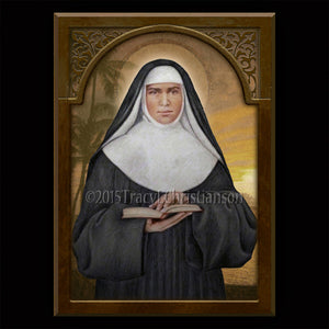 St. Marianne Cope Plaque & Holy Card Gift Set