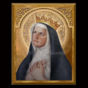 St. Margaret of Hungary 8x10 Plaque