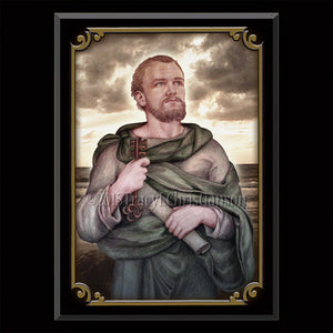 St. Peter the Apostle Plaque & Holy Card Gift Set
