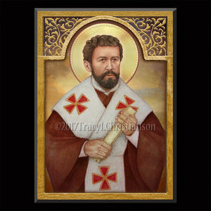 St. Timothy Plaque & Holy Card Gift Set