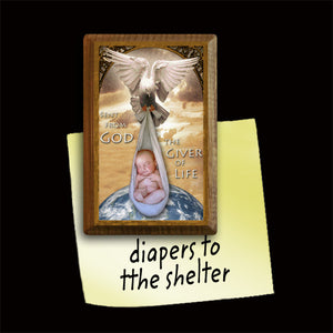 The Giver of Life Magnet