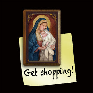 Madonna & Child (H) Magnet
