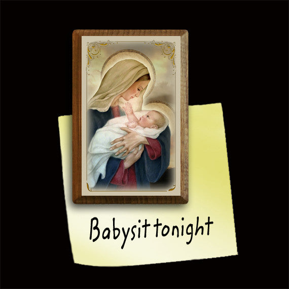 Madonna & Child (F) Magnet