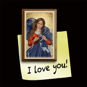 Our Lady Undoer of Knots Magnet