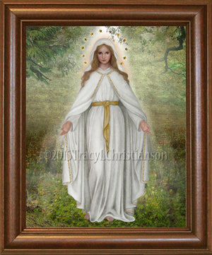 Our Lady of Good Help Framed