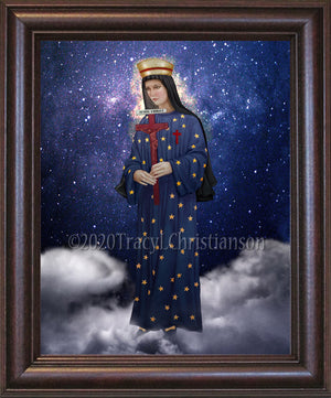 Our Lady of Pontmain Framed