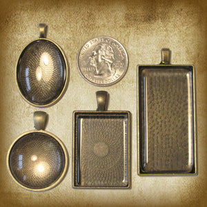 Ecce Homo Pendant & Holy Card Gift Set