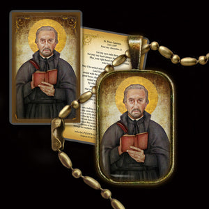 St. Peter Canisius Pendant & Holy Card Gift Set