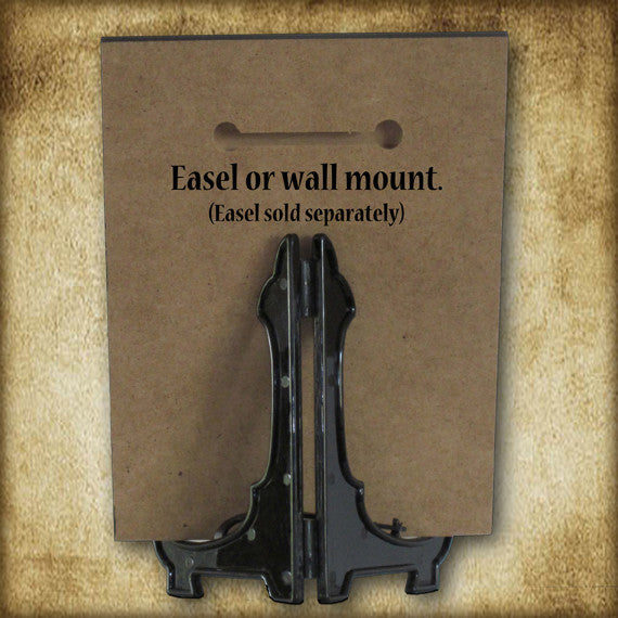 Ecce Homo Plaque & Holy Card Gift Set