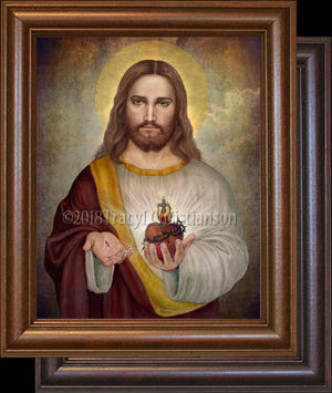 Sacred Heart of Jesus (A) Framed