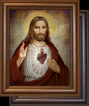 Sacred Heart of Jesus (B) Framed