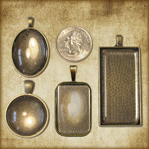 St. Augustine of Hippo Pendant & Holy Card Gift Set