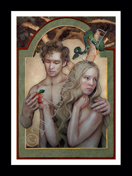 Sts. Adam and Eve Card