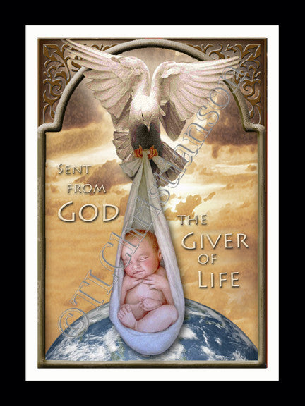 The Giver of Life Card