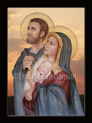 Christmas Card Holy Family (C)