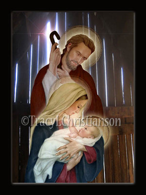 Christmas Card Holy Family (D)