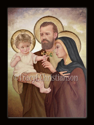 Christmas Card Holy Family (F)