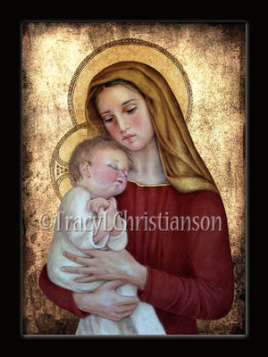 Christmas Card Madonna & Child (G)