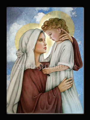 Christmas Card Madonna & Child (N)
