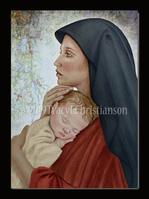 Christmas Card Madonna & Child (O)