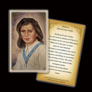 Bl. Laura Vicuna Holy Card
