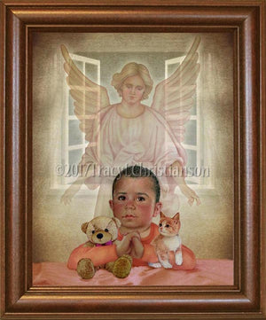 Guardian Angel/Boy (B) Framed