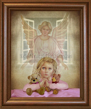 Guardian Angel/Girl Framed