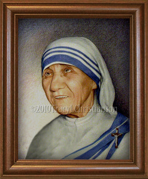 St. Mother Teresa of Calcutta Framed