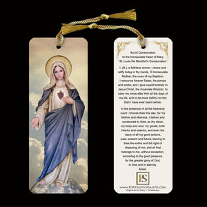 Immaculate Heart of Mary (full-length) Bookmark