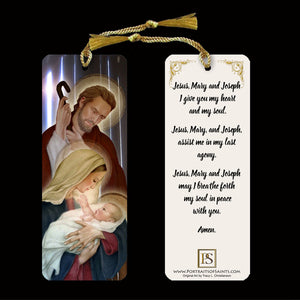 Holy Family Bookmark