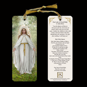 Our Lady of Good Help Bookmark