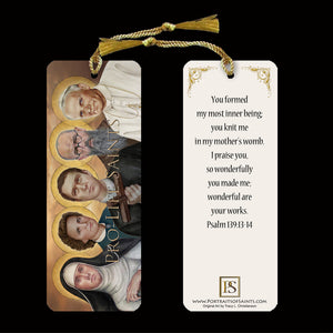 Pro-Life Saints Bookmark