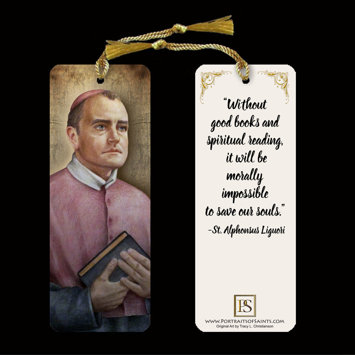 St. Alphonsus Bookmark