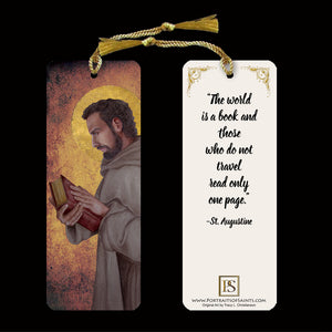 St. Augustine of Hippo Bookmark