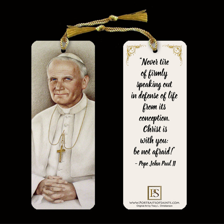 St. John Paul II Bookmark