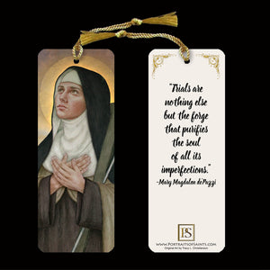 St. Mary Magdalen de Pazzi Bookmark