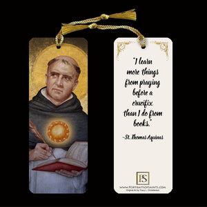 St. Thomas Aquinas Bookmark