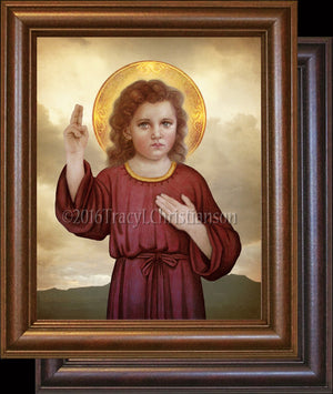The Christ Child Framed