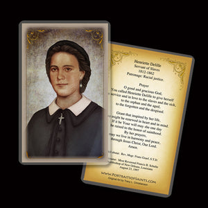 Venerable Henriette DeLille Holy Card