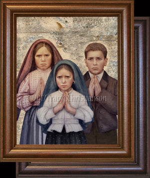 Fatima Children Framed