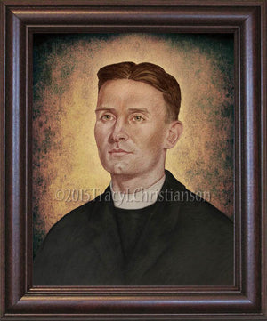 Servant of God Fr. Emil Kapaun (B) Framed