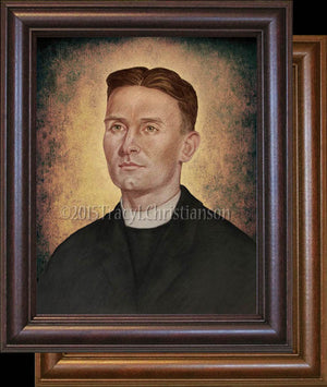 Venerable Fr. Emil Kapaun (B) Framed