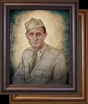Servant of God Fr. Emil Kapaun Framed