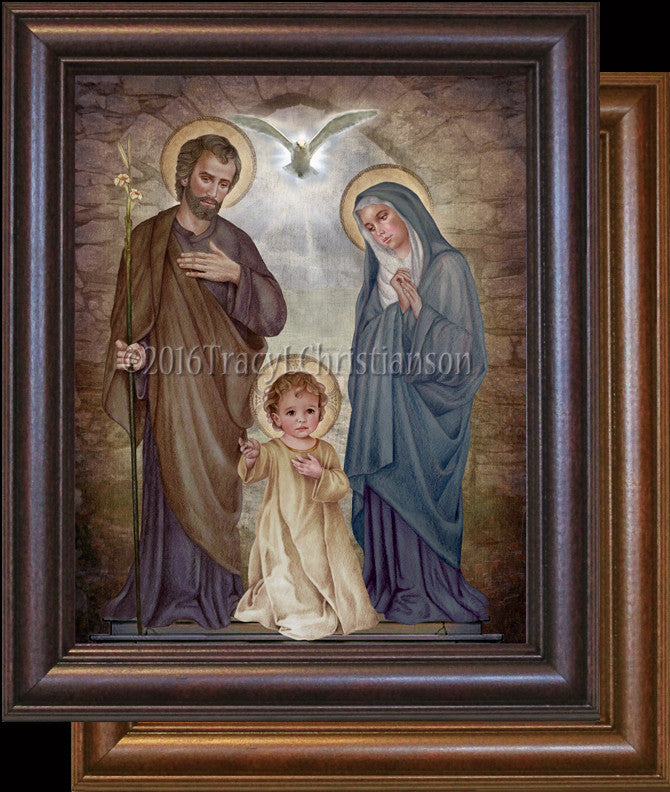 Holy Family (E) Framed