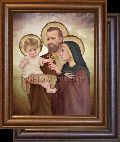 Holy Family (F)  Framed