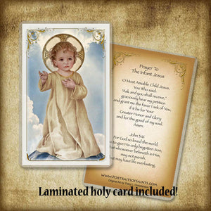 Savior of the World Pendant & Holy Card Gift Set
