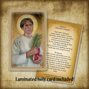 St. Pedro Calungsod Pendant & Holy Card Gift Set