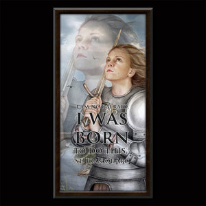 St. Joan of Arc Inspirational Plaque