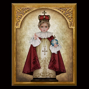 Infant of Prague 8x10 Plaque