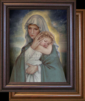 Madonna & Child (J) Framed